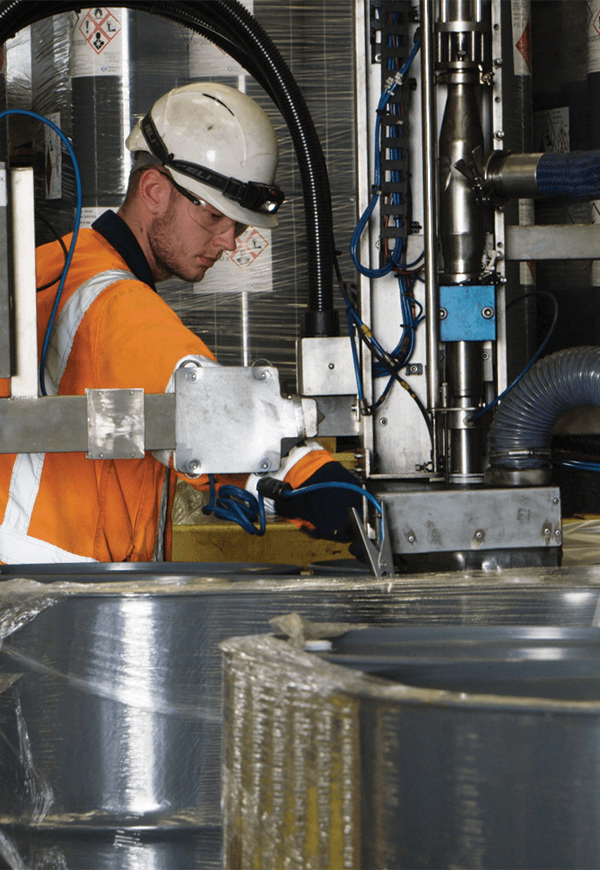 People and products ensure safety in the workplace