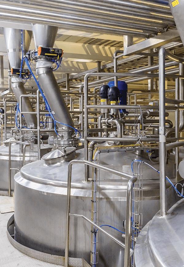 Fixed Powder Processing application