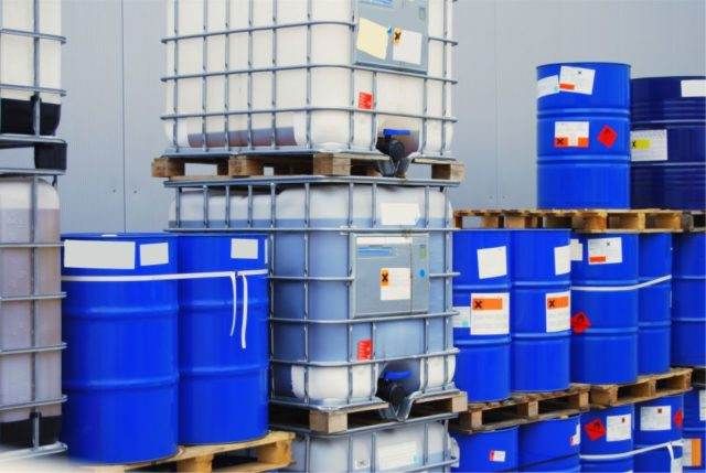 Drum and containers storage