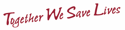 Together We Save Lives logo